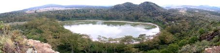 Crater Lake. Ndabibi. Kenya, septiembre de2006