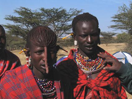 Lentano y Kirotie. Kenya, agosto de2004