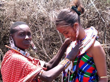 Mujeres masai. Kenya. Agosto de2004