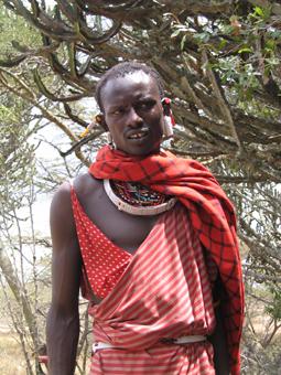 Guerrero Masai. Kenya. Agosto de2004