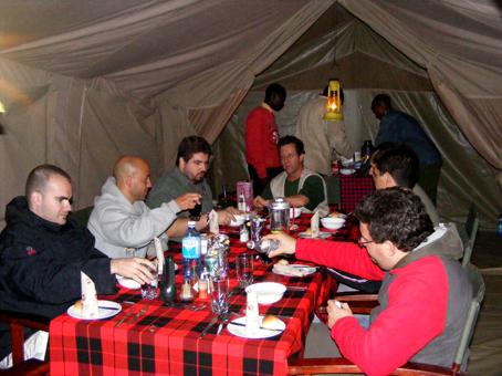 Losho Camp. Masai Mara. Kenya. Septiembre 2007