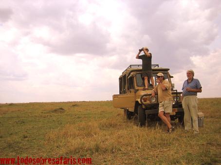 La Diligencia en Masai Mara. Kenya. Septiembre de 2007
