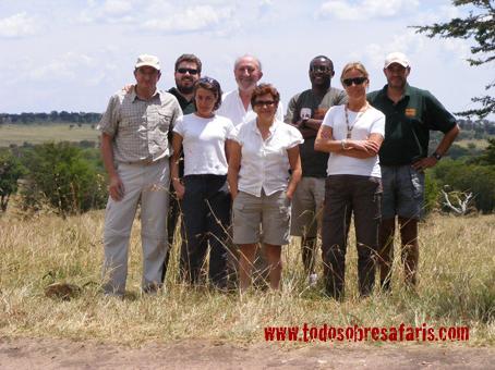 Grupo Mancho x6. Tanzania, agosto de2007