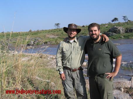 Sand River. Kenya. Agosto de 2005