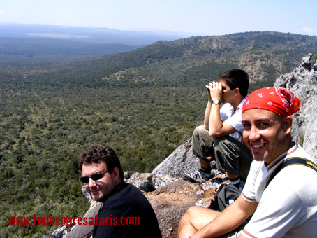 Vista de Loita Hills. Kenya, agosto de2007