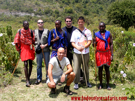 Mukora safari y masais. Kenya. Agosto de2007