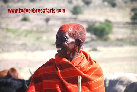 Masai en Losho, Kenya. Agosto de2007