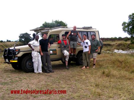 Mukora safari. Kenya. Septiembre de2007