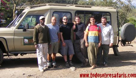 Mukora Safari. Crater Lake Lodge, Kenya. Septiembre 2007